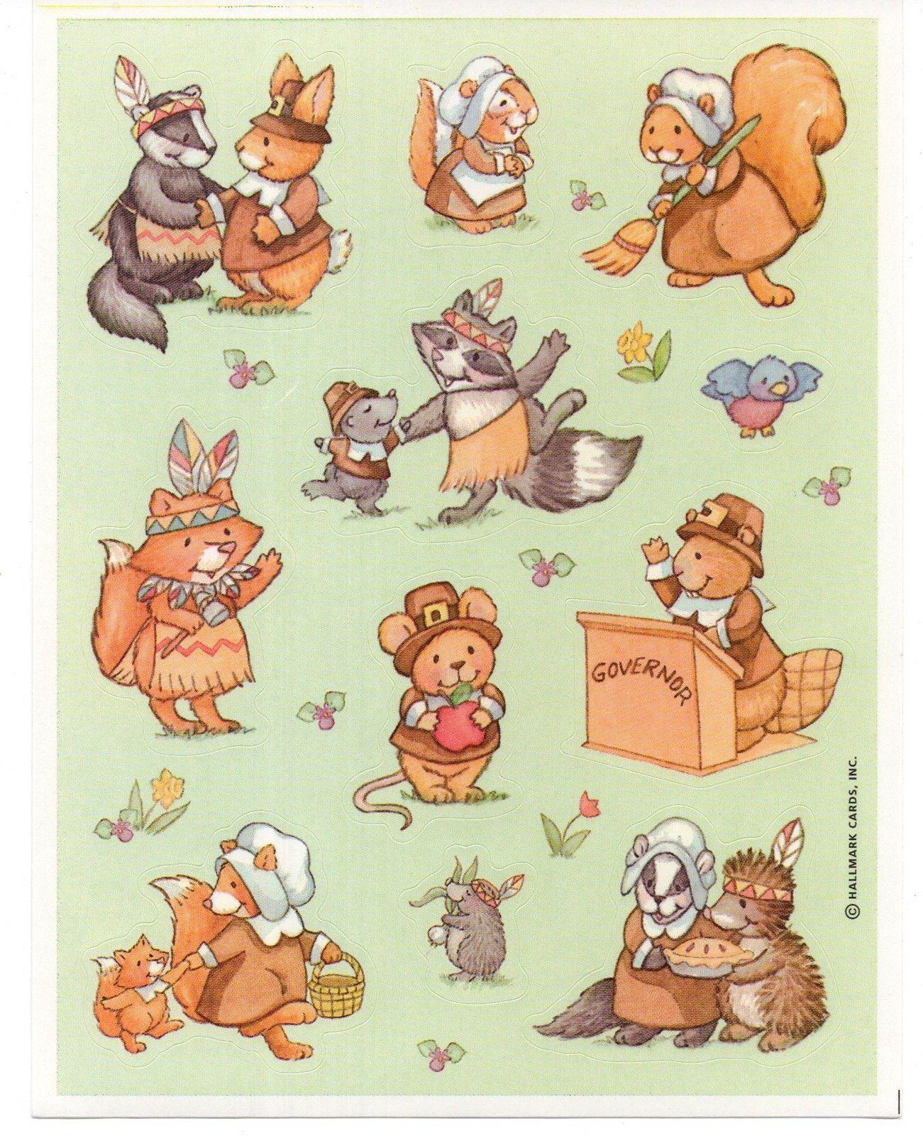 Scrapbooking 1 Sheet American Greeting Sticker DINOSAURS
