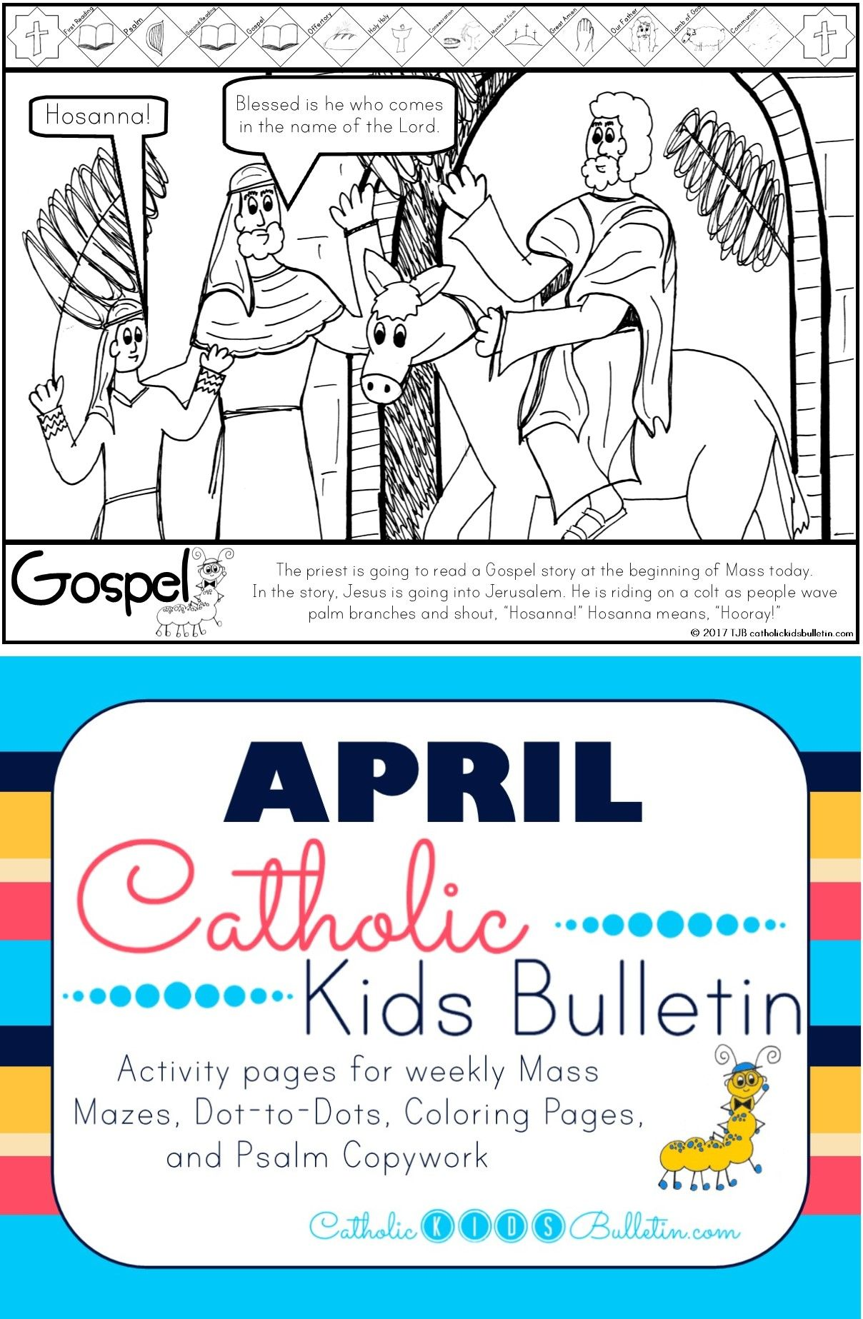 Check Out These Awesome Catholic Mass Bulletins For Kids