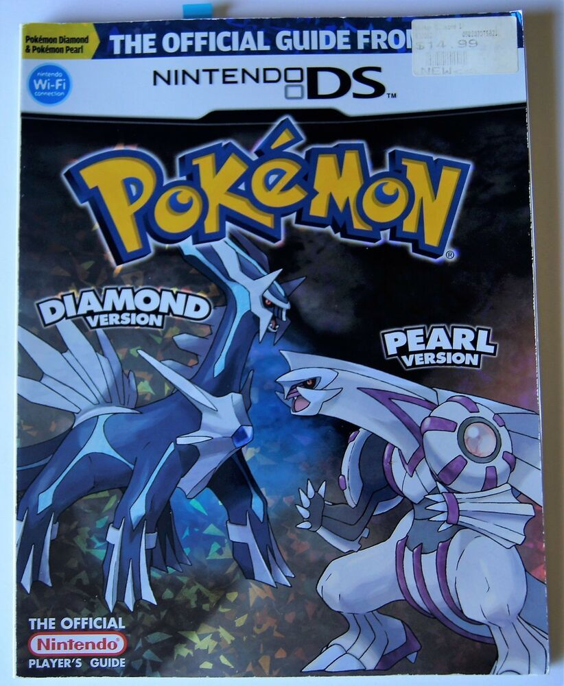 Pokemon Ds Pokemon Diamond Pearl Official Game Guide For Nintendo Ds