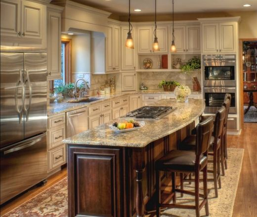 Best 25+ Cream kitchen cabinets ideas on Pinterest | Cream ...