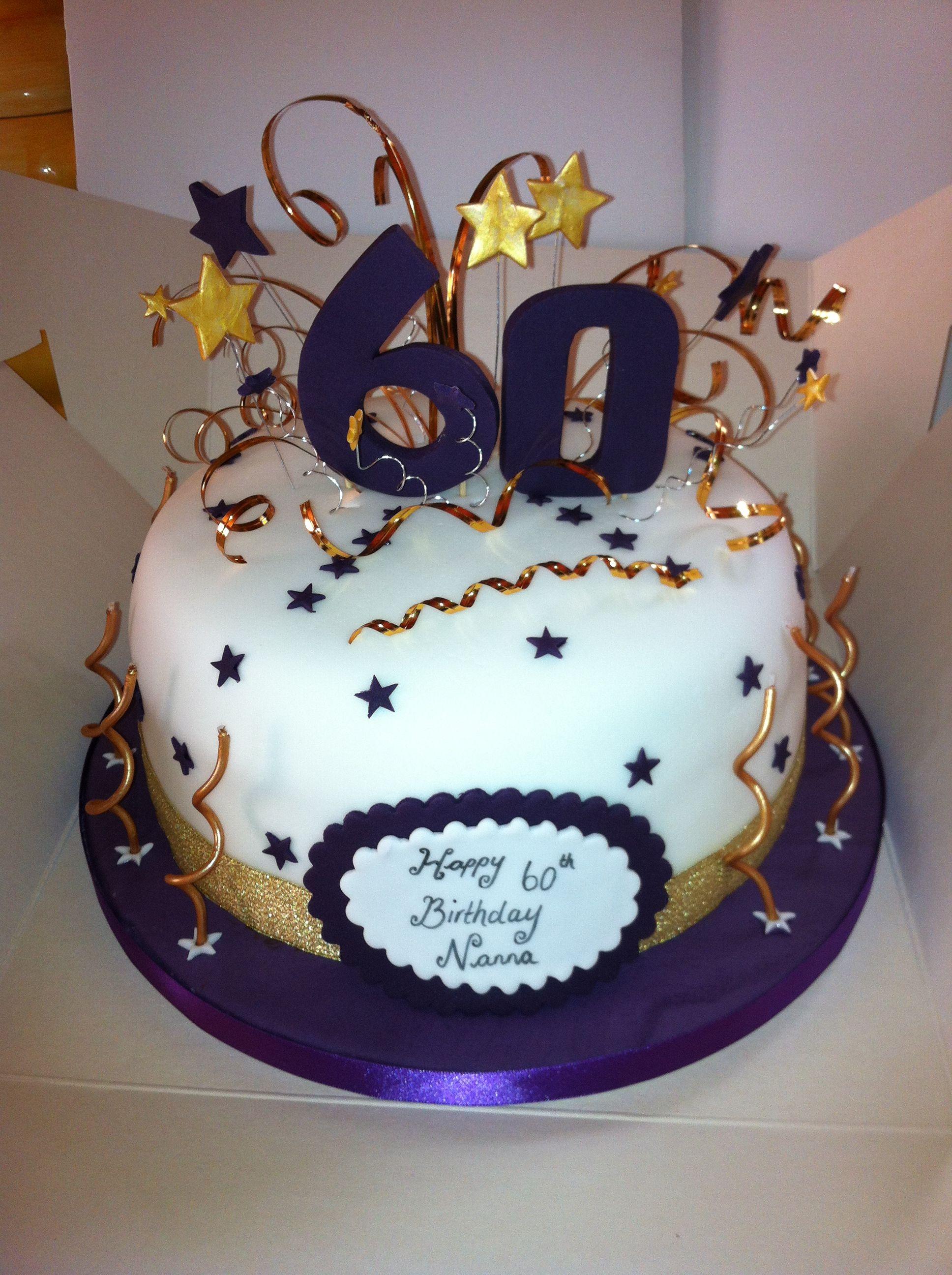 60th Birthday Cake Sealife 60th Birthday Cakes