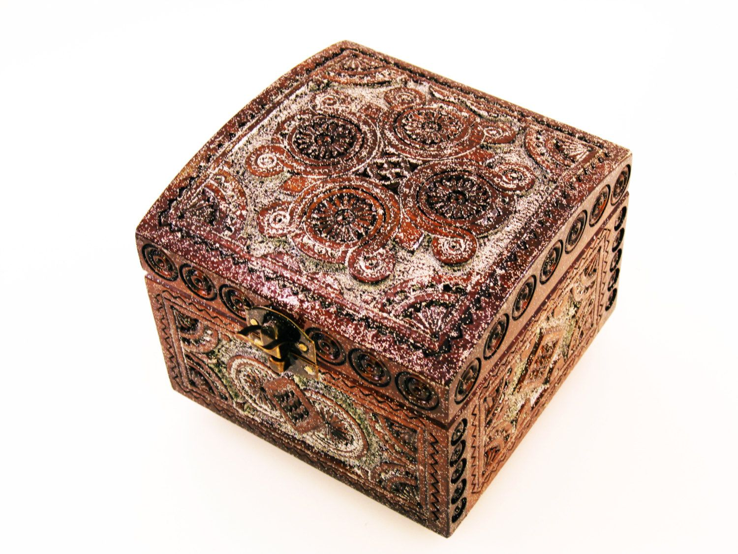 Large Decorative Gift Boxes With Lids Unique Gift Boxes Pretty Large Craft Chip Carving Woodbox Storage