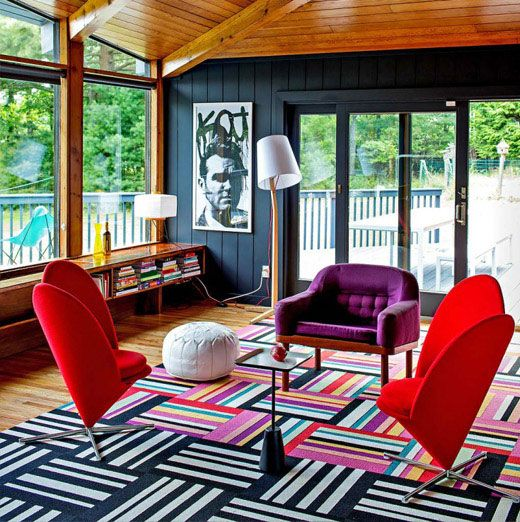1960s beach house interior furniture truly make this house