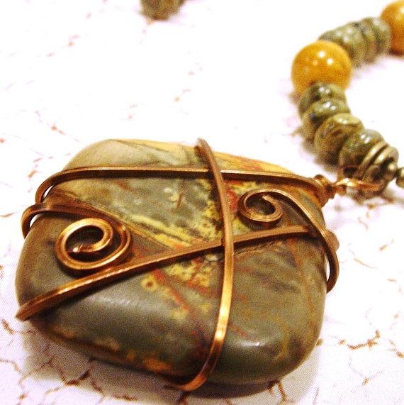 WireWrapped Red Creek Jasper Pendant with by StoneWingDesigns on Etsy  http://www.etsy.com/listing/87531264/wire-wrapped-red-creek-jasper-pendant?ref=tre-2018853456-6