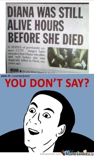 you don't say memes | You Don't Say? - Meme Center