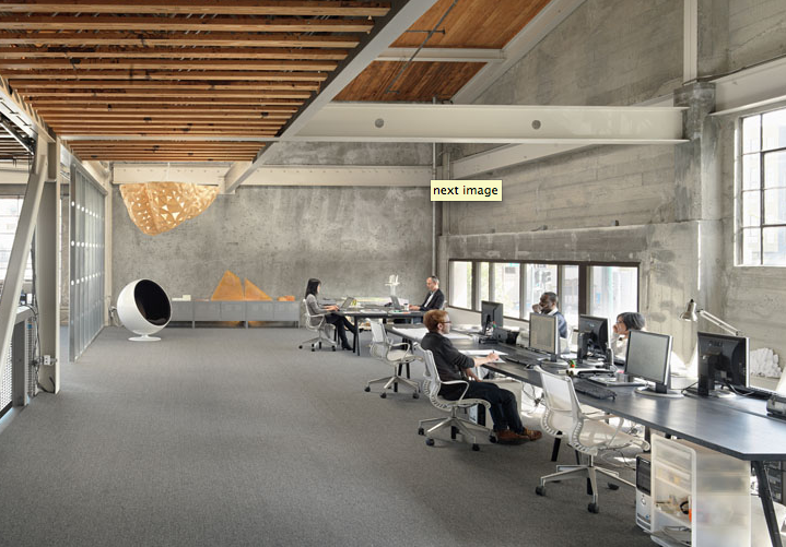 All Desks To One Side San Francisco Office Transformed