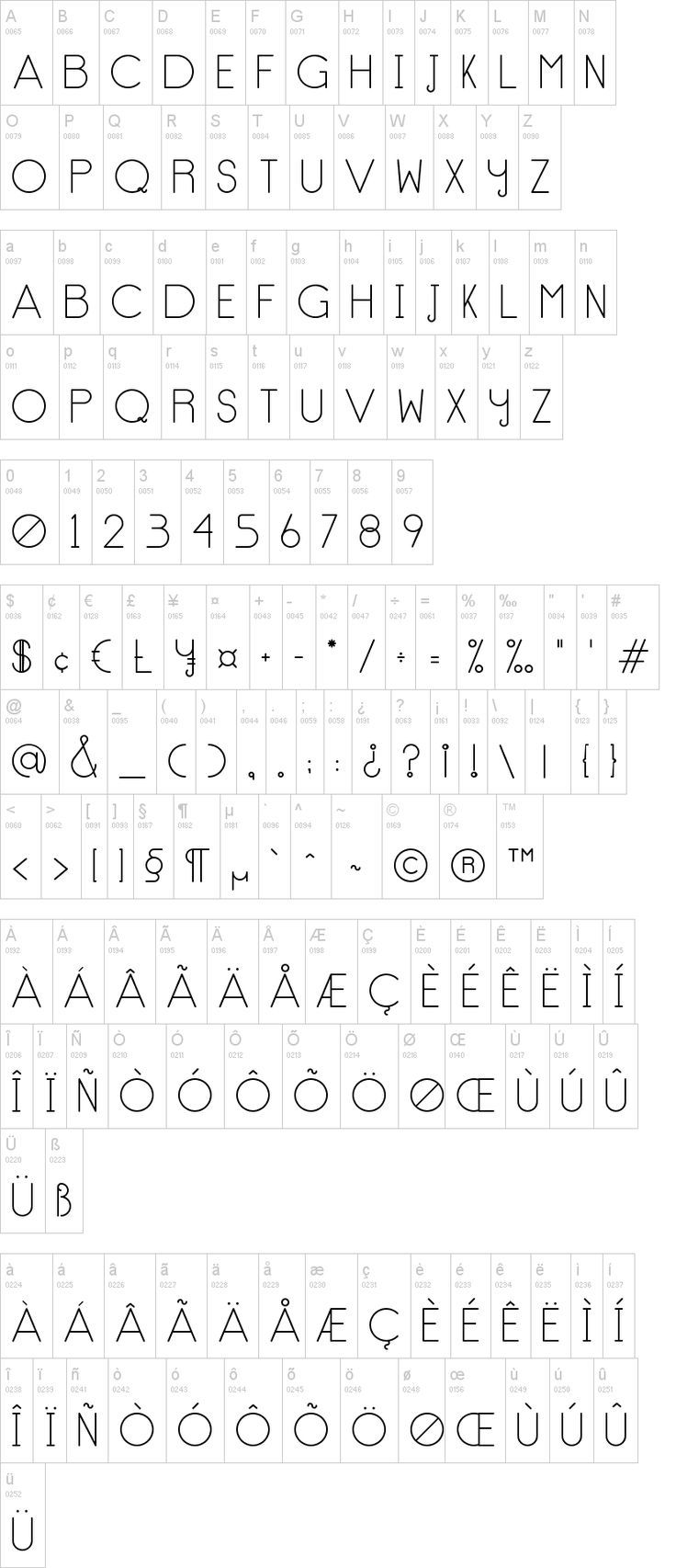 No Type Font | dafont.com   - Cool things - #cool #dafontcom #font #Type