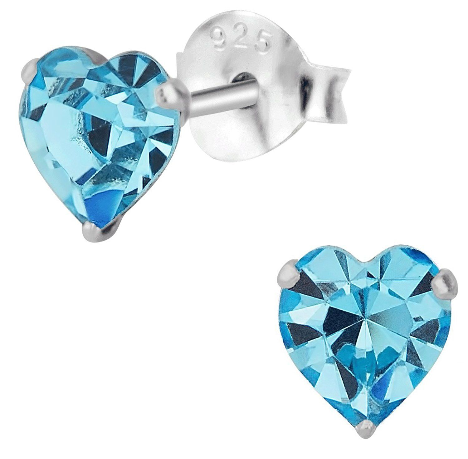 earrings square ralph nickel picture lauren cubic estate p of stud zirconia cz silvertone s free