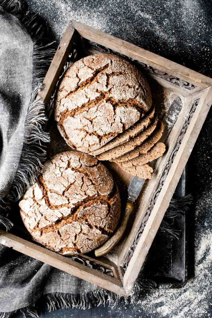 Photo of The Valais rye bread is an incredibly juicy bread.