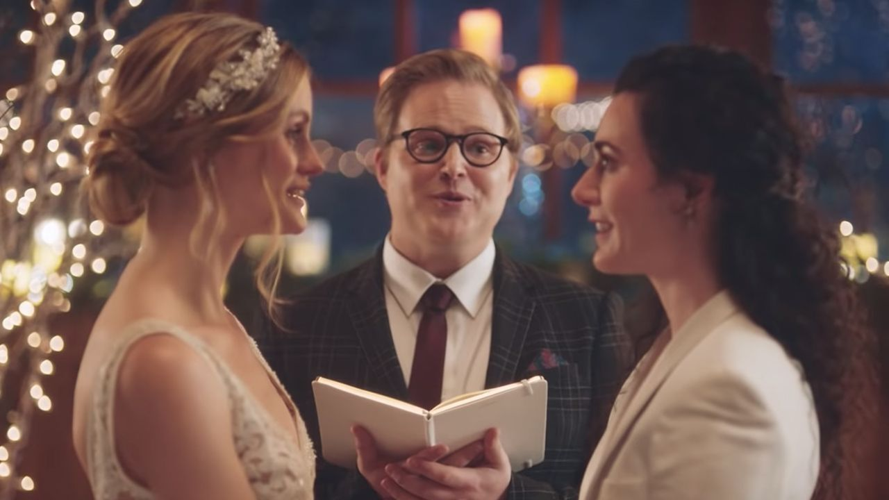 Hallmark Pulls Zola Commercial Of Brides Kissing After