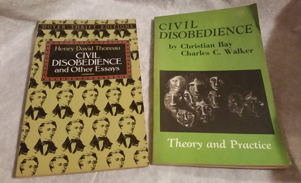 Civil Disobedience Theory and Practice by Christian Bay & Unabridged by Henry...