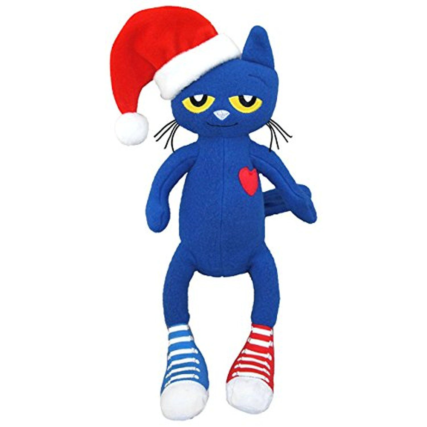 Merrymakers pete the cat saves christmas plush doll 15