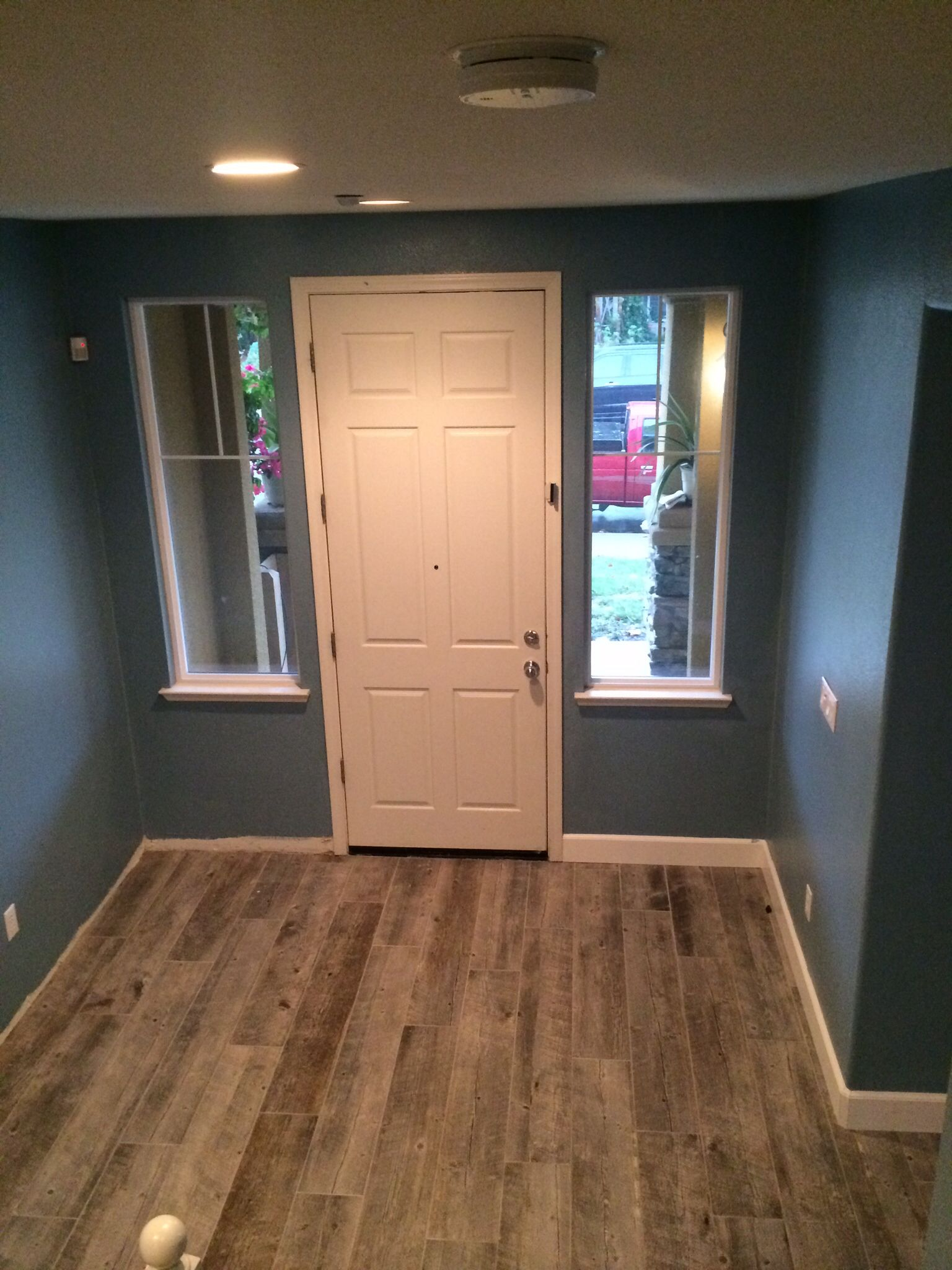 The Updated Look Labrador Blue Walls Benjamin Moore