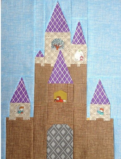 Fairy Tale Pdf Quilt Patterns Paper Piecing Patterns