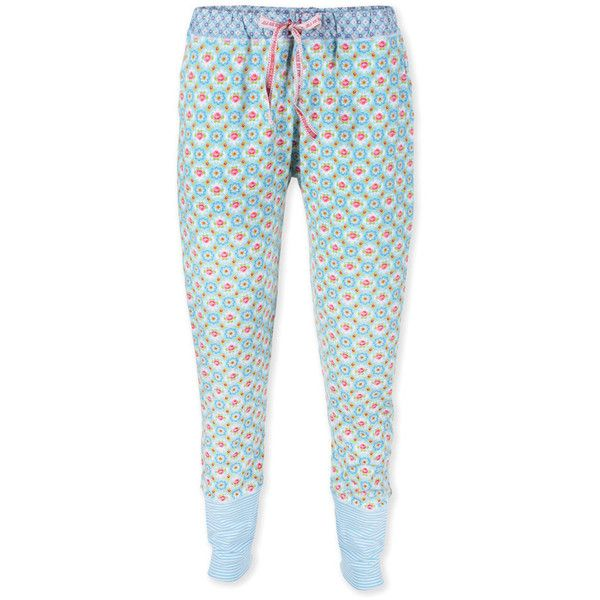 Pip Studio Bobien Blossom Rose Blue Pyjama Trouser 81 Liked On Polyvore