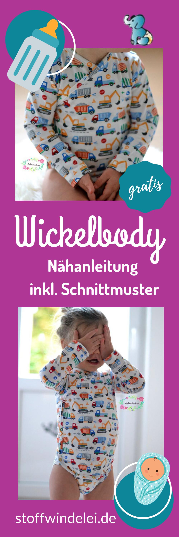 Photo of Kostenloses Schnittmuster und Nähanleitung für einen Wickelbody