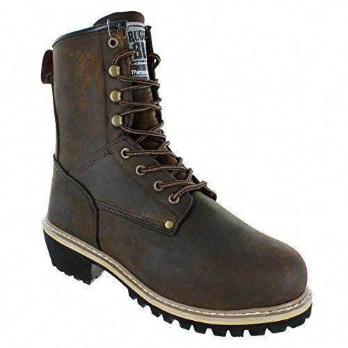 New Rugged Blue 8 Men S Pioneer Ii Insulated Logger Boot Men