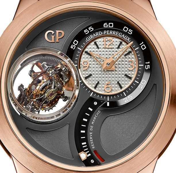 39ce0d21246 Girard-Perregaux Tri-Axial Tourbillon Watch dial closeup
