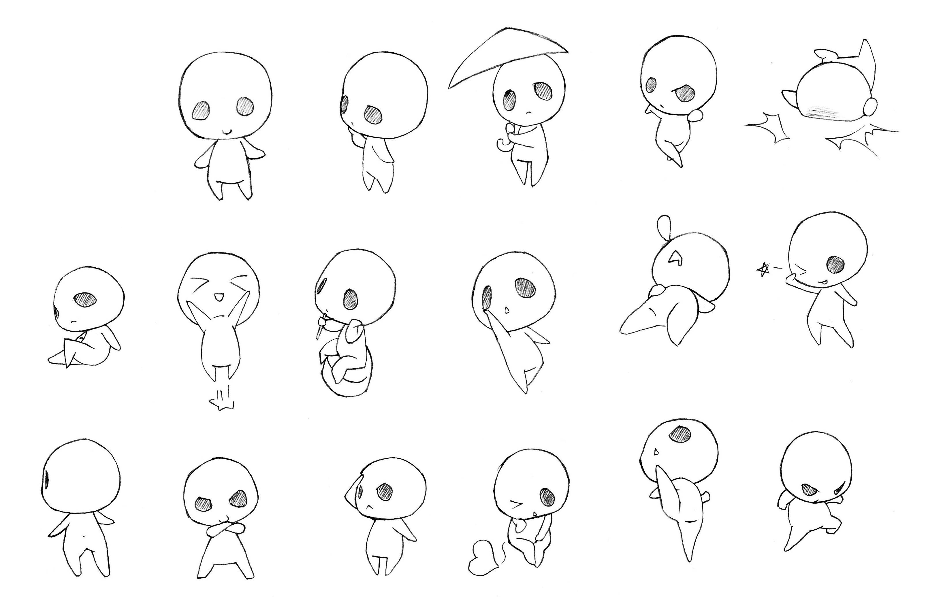Chibi Drawing Reference And Sketches For Artists Chibi Drawings Chibi Body Chibi Sketch