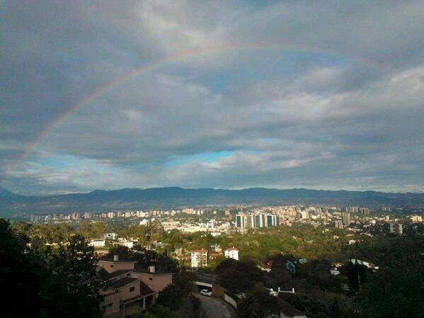 Guatemala, mirador carretera al Salvador