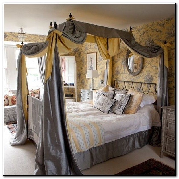 7 Good Canopy Bedroom Sets With Curtains Images Ideas Bedroom