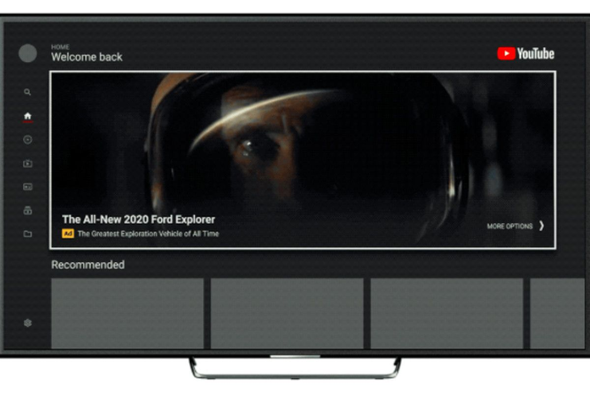 YouTube to introduce a massive ad box to its TV app Tv