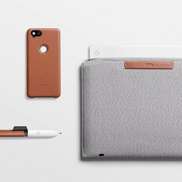finest selection 9bafe b790e Leather Pixel Case Pixelbook Sleeve and Pixelbook Pen Clip by ...