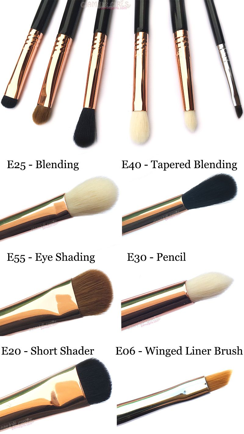 Best Eye Makeup Brushes By Sigma Beauty Eye Makeup Brushes Best Eye Makeup Brushes Makeup Brushes