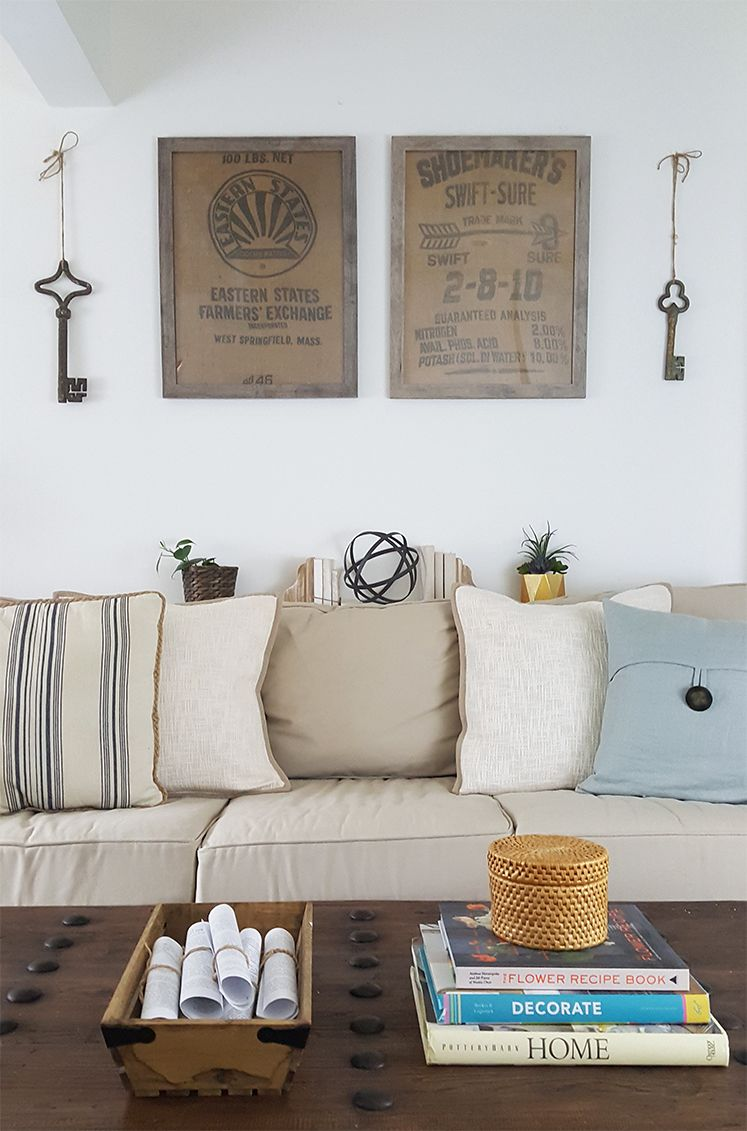 DIY Wall Art Ideas - Framed Burlap - | Framed burlap, Diy wall decor ...