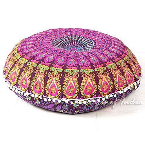 Pin de de mandalas en cojines con mandalas pinterest espacios peque os mandalas y tiendas - Cojines pequenos ...