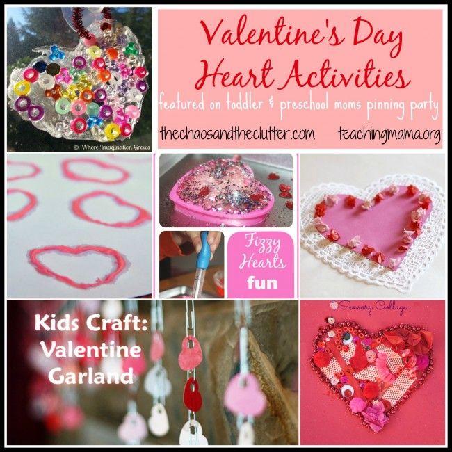 Valentine\'s Sensory Activities | Activities, Holidays and ...