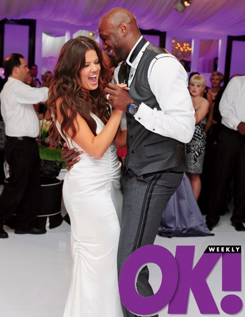 Khloe Kardashian + Lamar Odom Wedding | Khloe K Wedding// | Pinterest