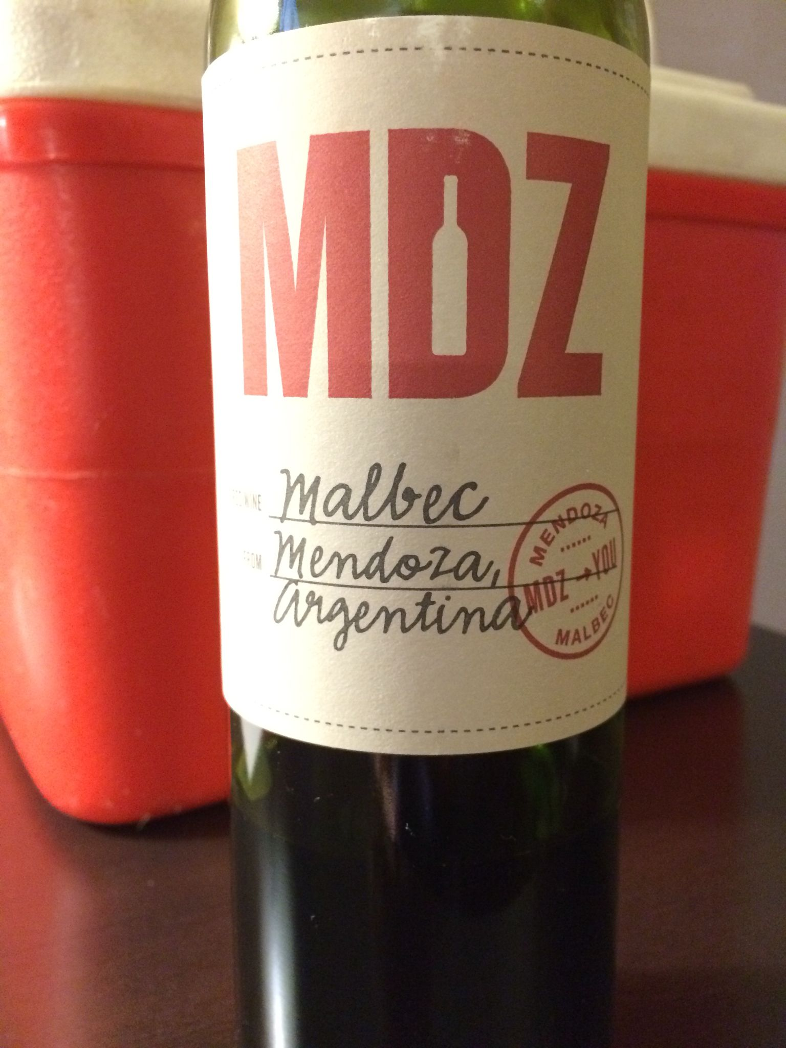 Mdz Malbec Argentina Malbec Wines Wine Bottle