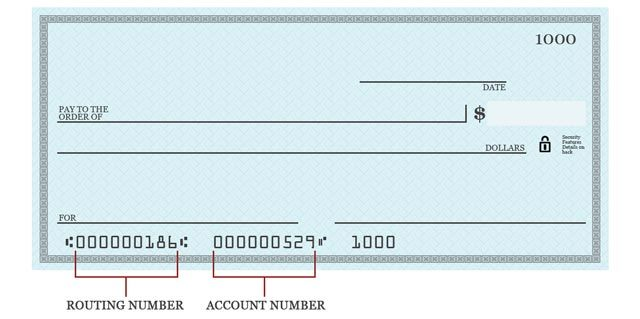 Bank Routing Number  Routing Numbers On Check  Interesting