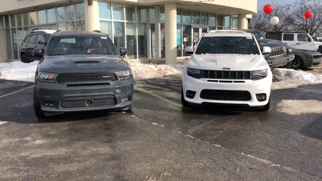 2018 Srt Durango Vs 2018 Srt Grand Cherokee Austin Texas 2018