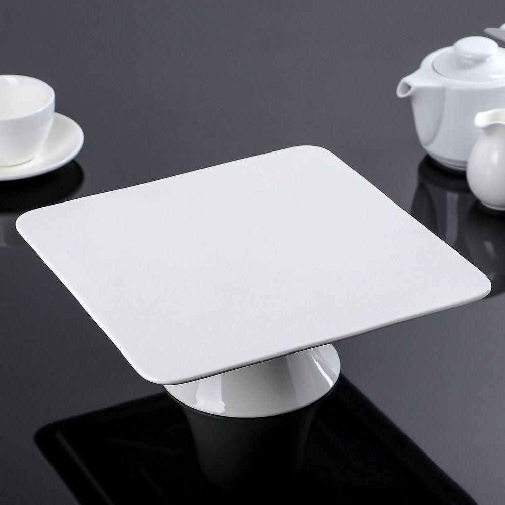 Photo of Fine Porcelain Cake Stand 12″ X 12″ X 3.5″