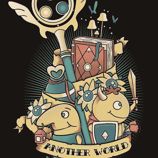 Another world | Ni no kuni, Witch wallpaper, World art