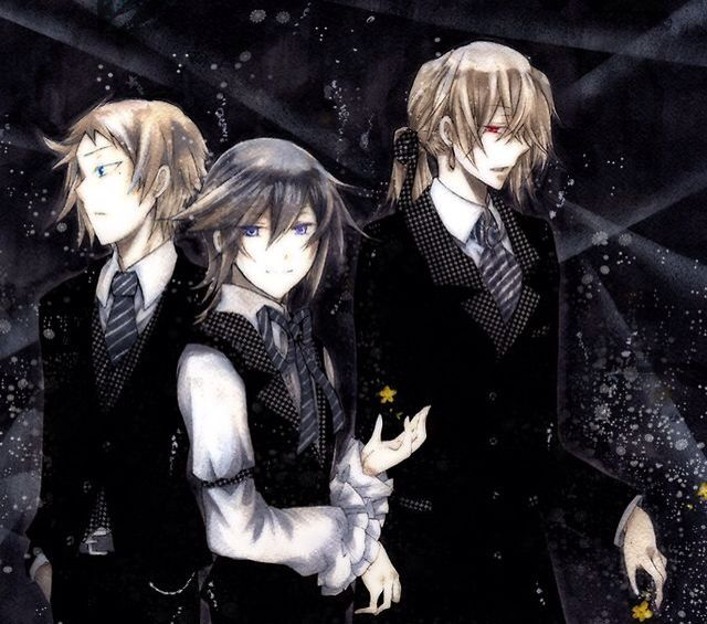 Leo Baskerville and Vincent and Elliot Nightray