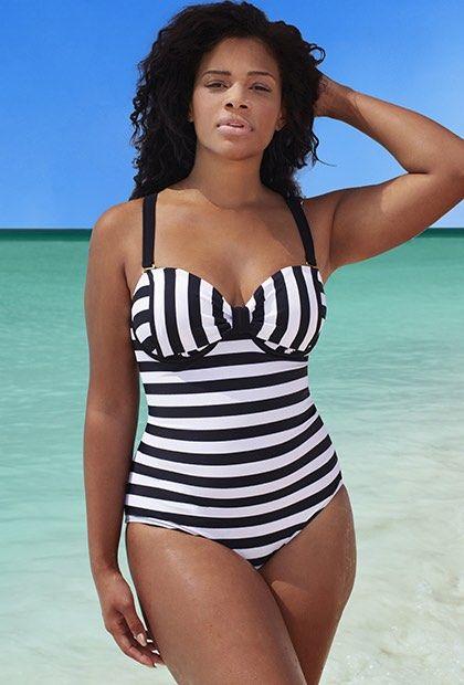 d7f0733aa8fc8 Plus Size GabiFresh for Swim Sexy The Countess D DD Underwire Swimsuit