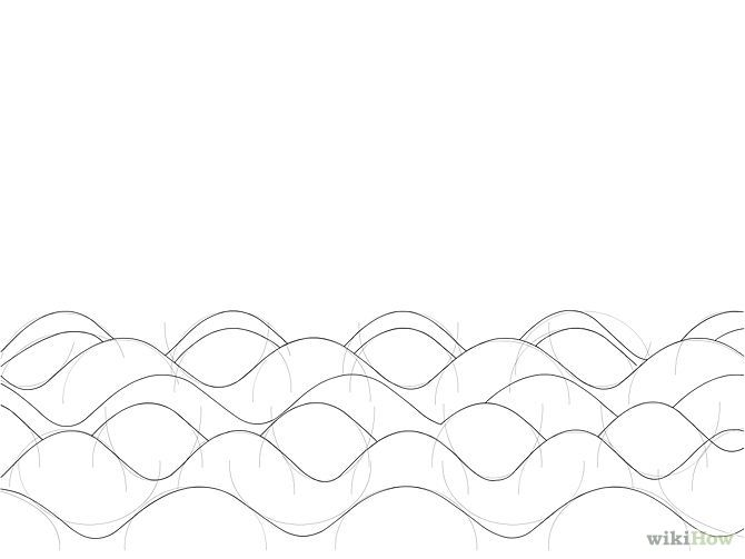 Drawing Lines With Pixels : Px draw waves step g pixels