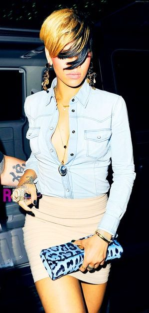 rihanna curly hair styles rihanna s clutch the lil things mode 3057