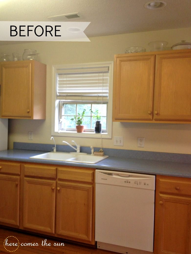 Update Your Cabinets With Contact Paper Tips Forrent Rental Kitchen Makeover Contact Paper Kitchen Cabinets Kitchen Cabinets Cover