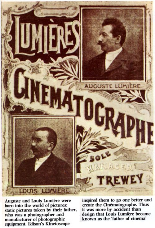 Log in  Lumière brothers, Film history, Silent film
