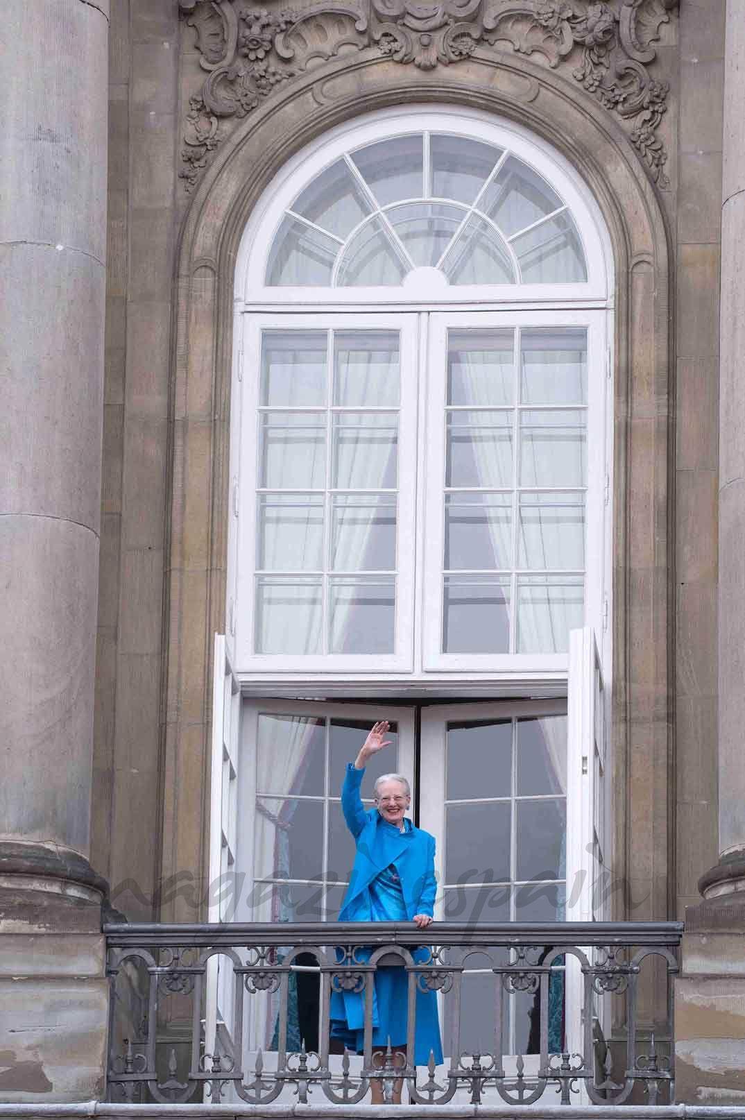 La reina Margarita de Dinamarca reune a su familia en su 76 cumpleaños
