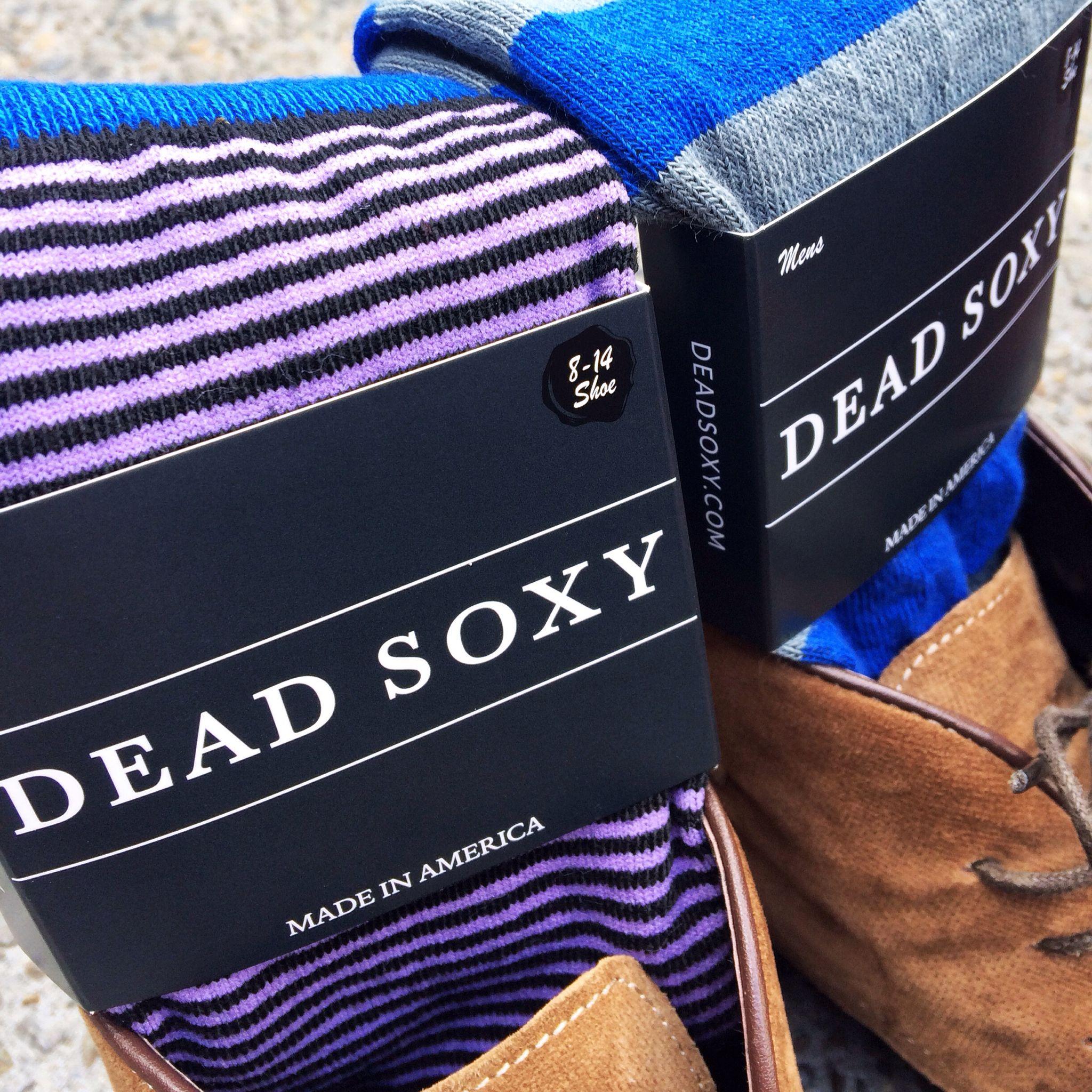 Dead Soxy Socks, style for the executive, classy fun.