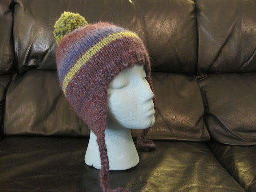 My Classic Ear Flap Hat | Flap hat, Hat knitting patterns