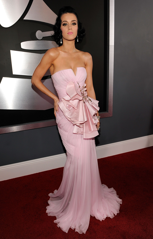 evening pink dress katy perry | Looks - Dresses - Evening ...