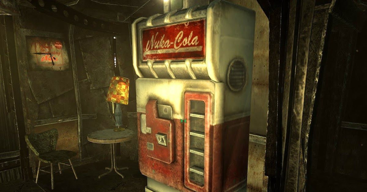 Nuka Cola machine from Fallout. This would be really cool