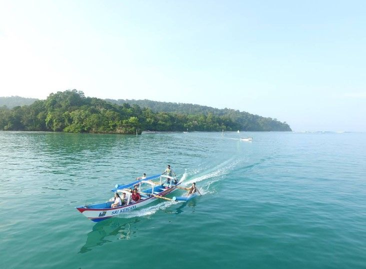 Pantai Pangandaran Objek Wisata Terbaik Dan Terindah Di Jawa Barat Wisatasenibudaya Com Pantai Objek