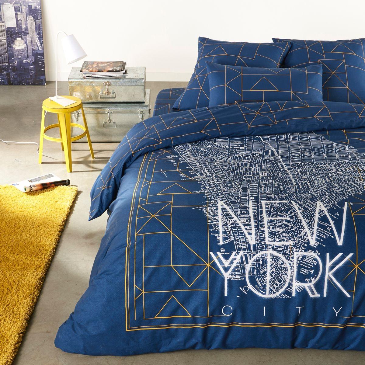 Housse De Couette Imprimee New York Bedding Sets Boys Crib Bedding Sets Toddler Bed Set